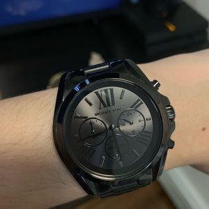 All Black Michael Kors Watch